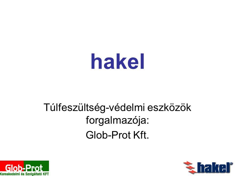 Túlfeszültség-védelmi eszközök forgalmazója: Glob-Prot Kft.