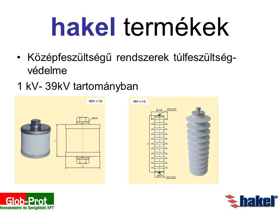 hakel termékek Középfeszültségű rendszerek túlfeszültség-védelme