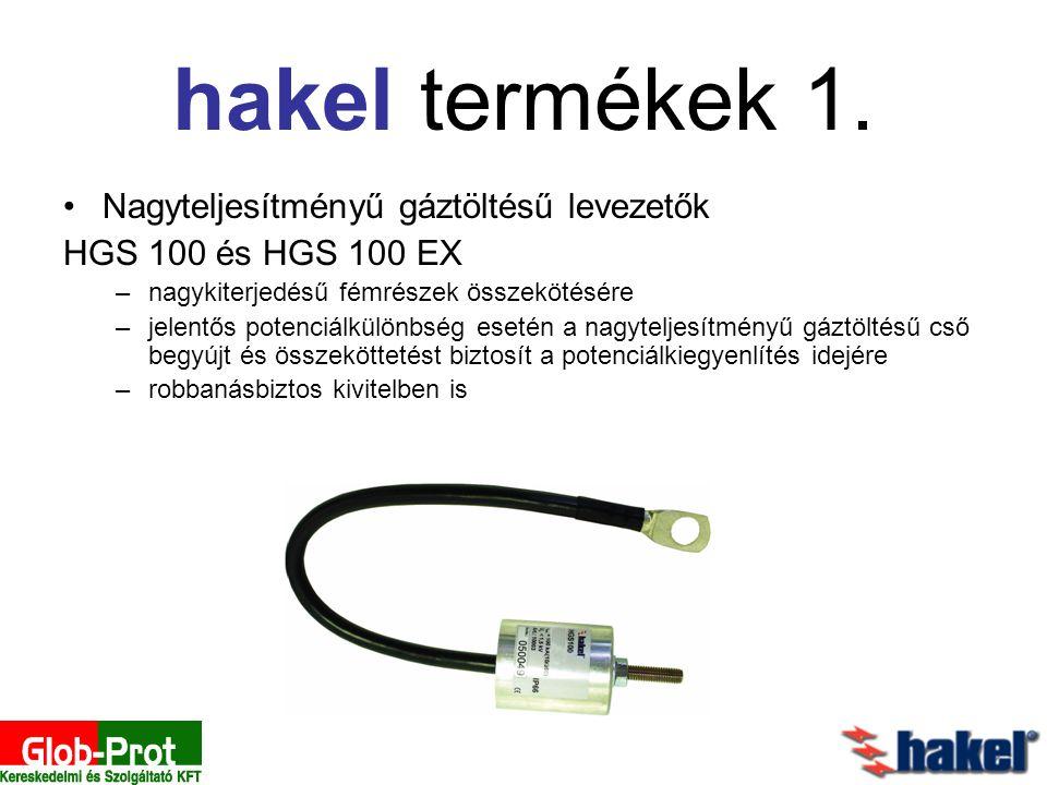 hakel termékek 1. Nagyteljesítményű gáztöltésű levezetők