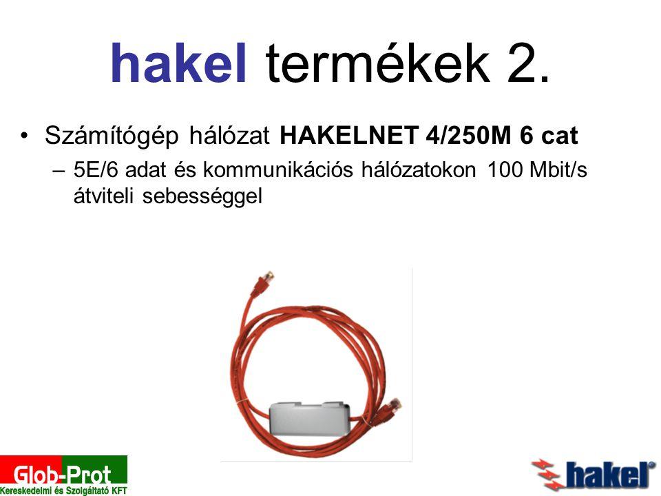 hakel termékek 2. Számítógép hálózat HAKELNET 4/250M 6 cat