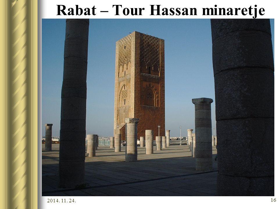 Rabat – Tour Hassan minaretje