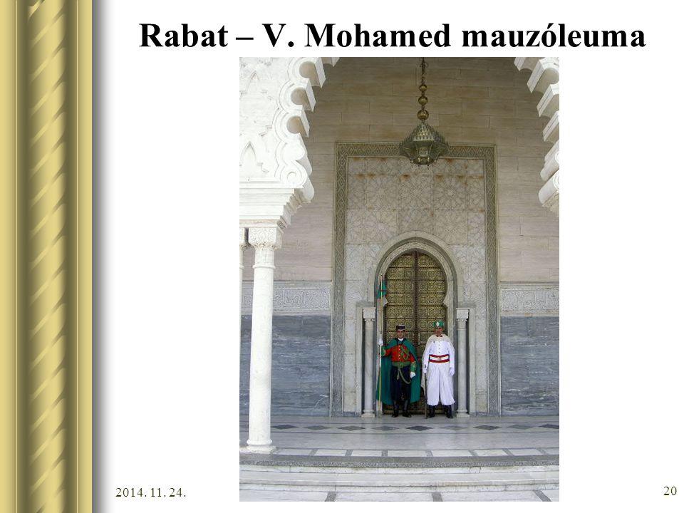 Rabat – V. Mohamed mauzóleuma