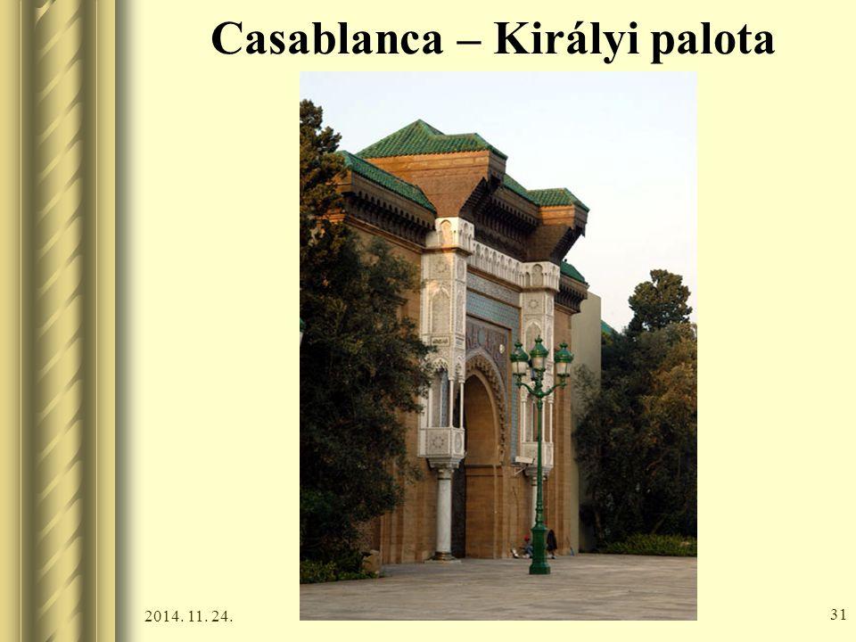 Casablanca – Királyi palota
