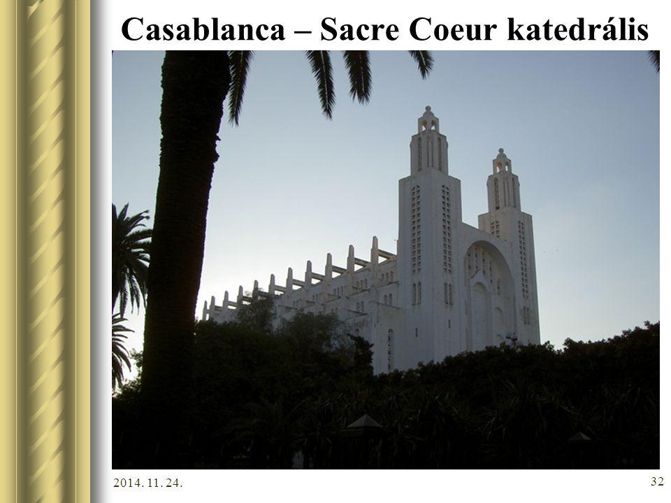 Casablanca – Sacre Coeur katedrális