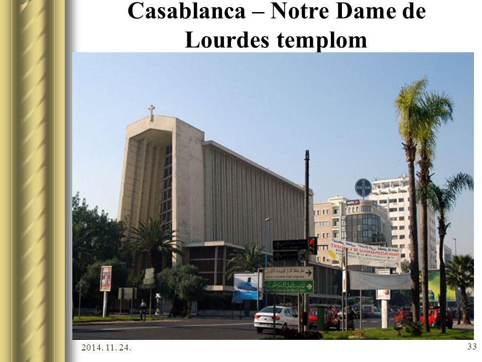 Casablanca – Notre Dame de Lourdes templom