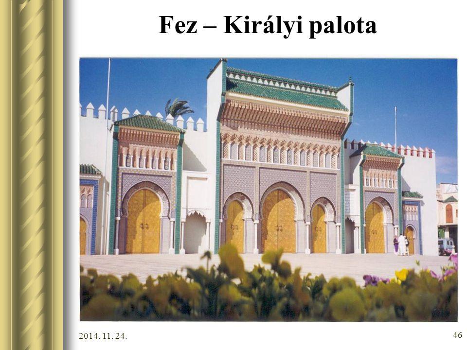 Fez – Királyi palota 2017.04.07.