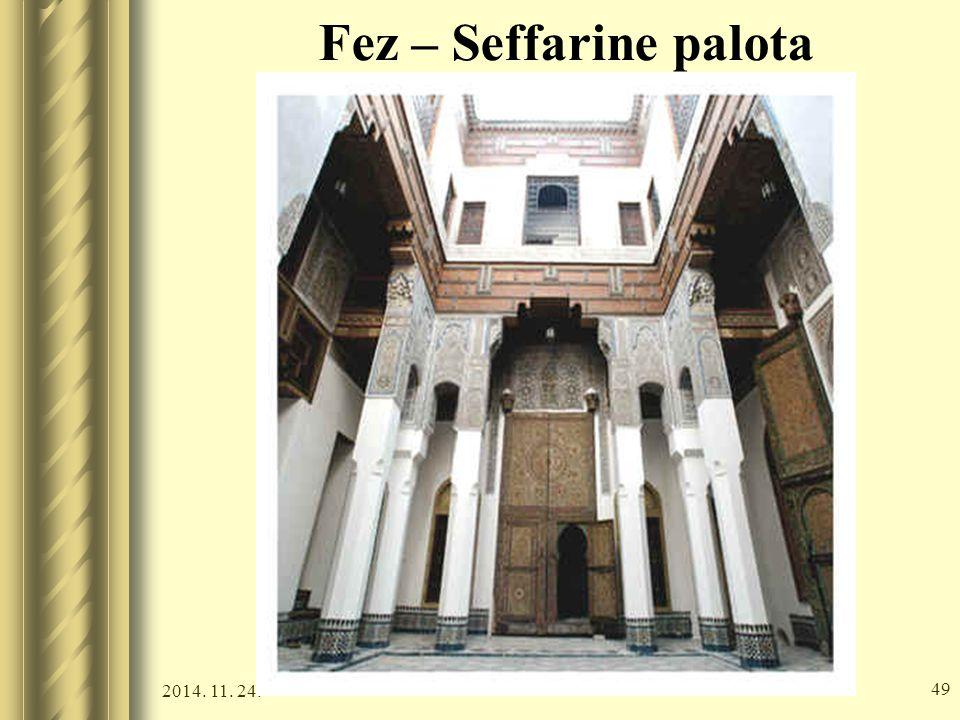 Fez – Seffarine palota 2017.04.07.
