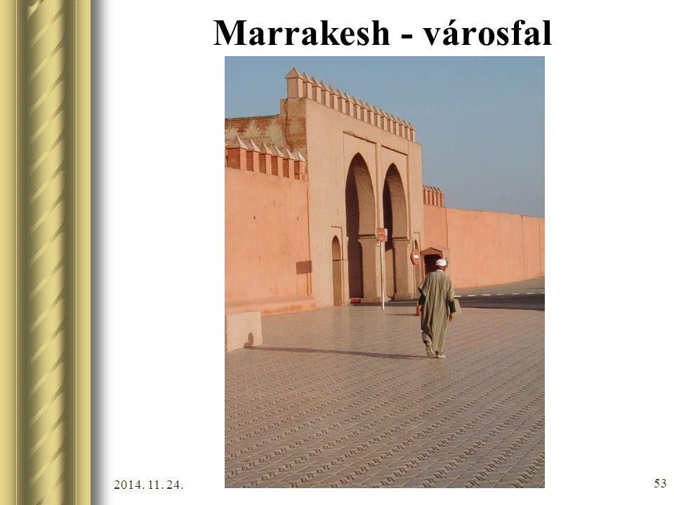 Marrakesh - városfal 2017.04.07.