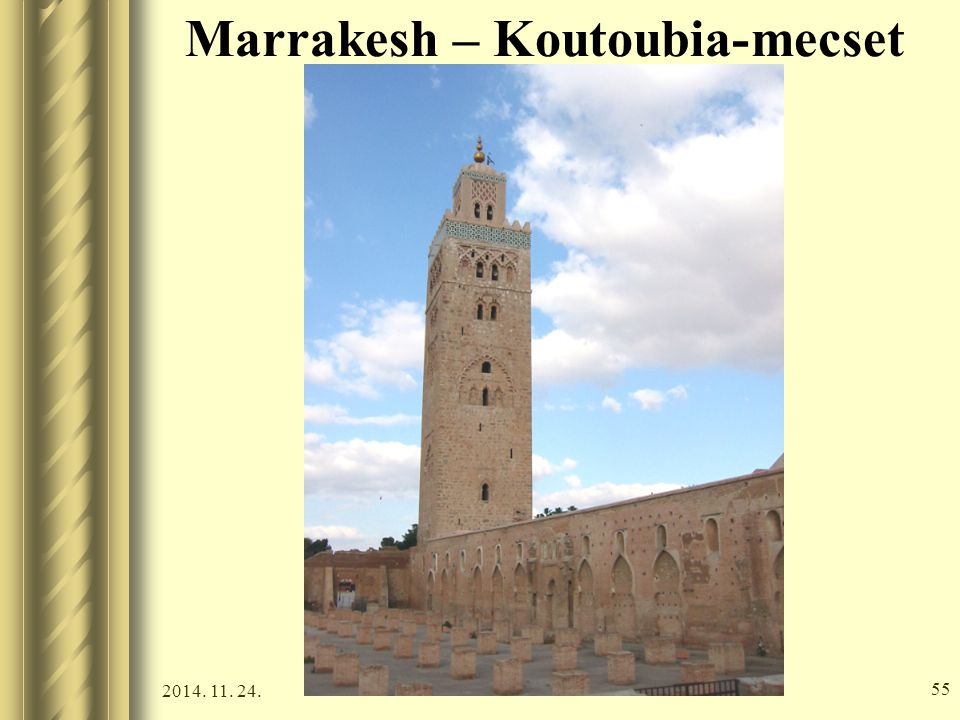 Marrakesh – Koutoubia-mecset