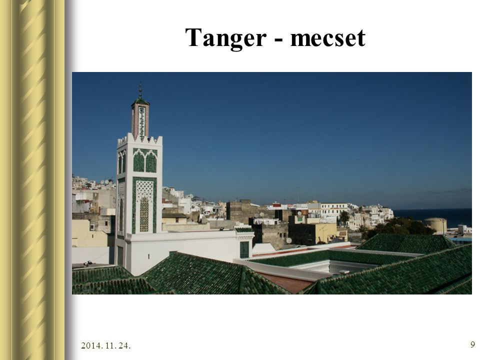 Tanger - mecset 2017.04.07.