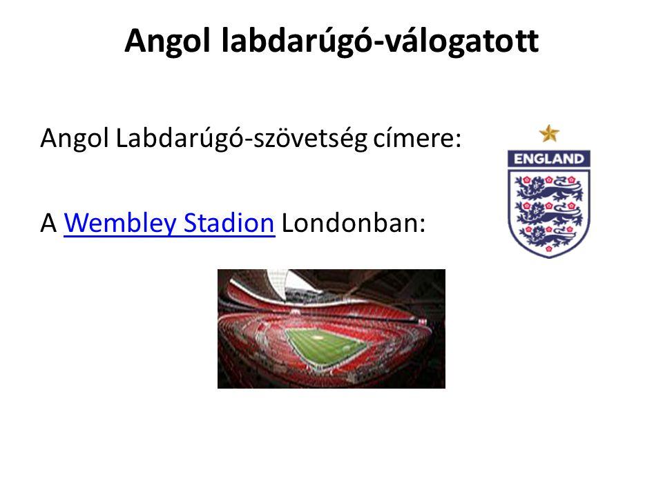 Angol labdarúgó-válogatott