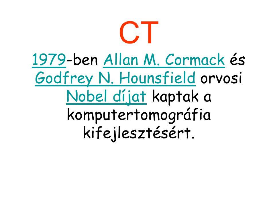 CT 1979-ben Allan M. Cormack és Godfrey N.
