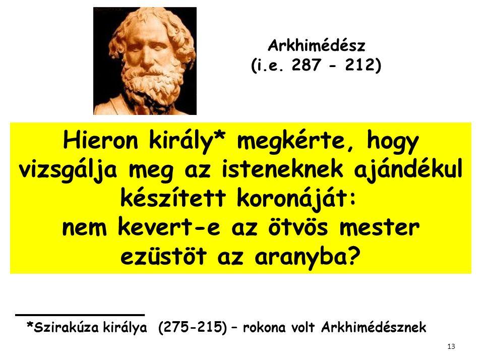 Arkhimédész (i.e. 287 - 212)
