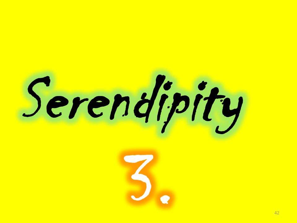 Serendipity 3.