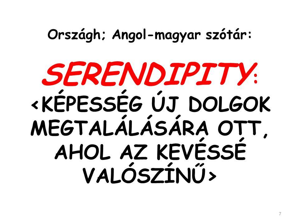 Országh; Angol-magyar szótár:
