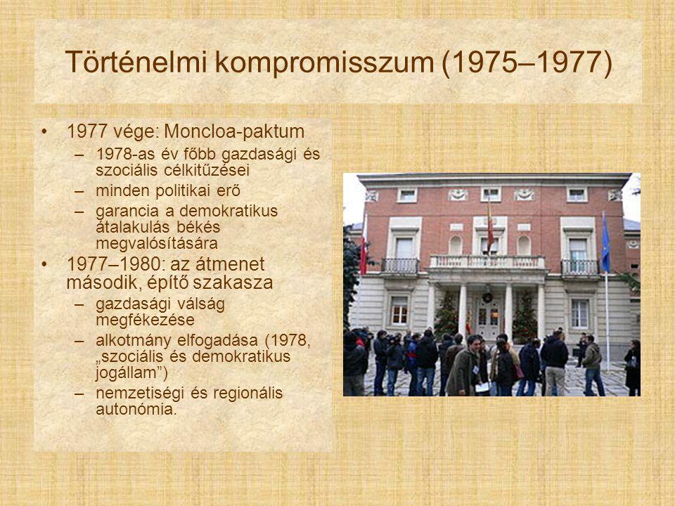 Történelmi kompromisszum (1975–1977)