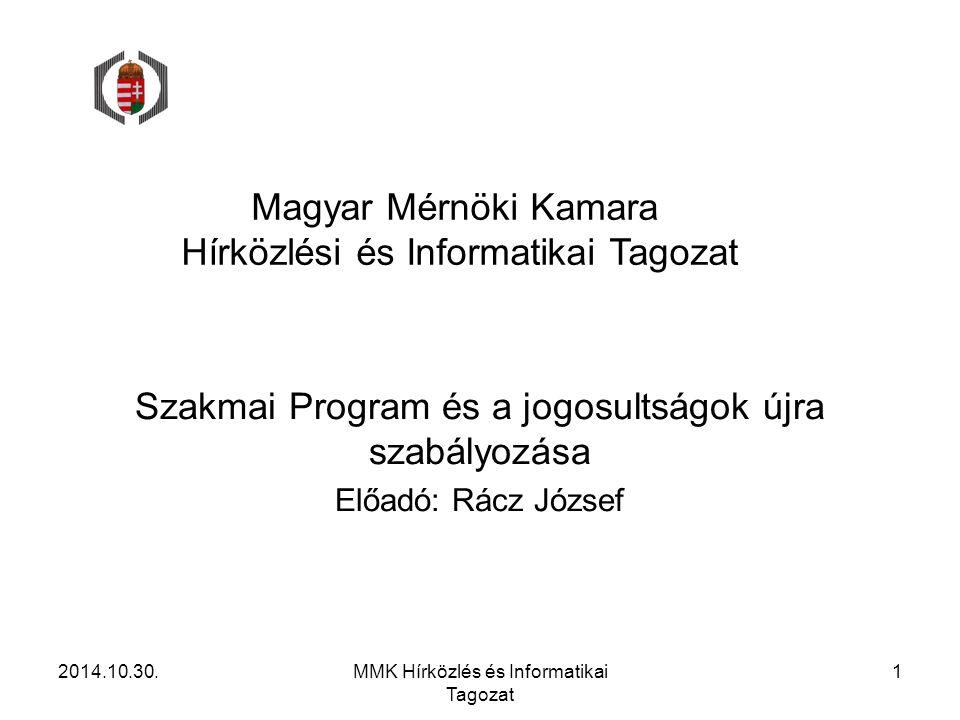 Magyar Mérnöki Kamara Hírközlési és Informatikai Tagozat