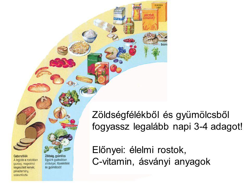 Zöldségfélékből és gyümölcsből