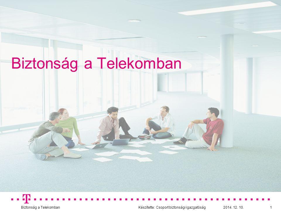 Biztonság a Telekomban