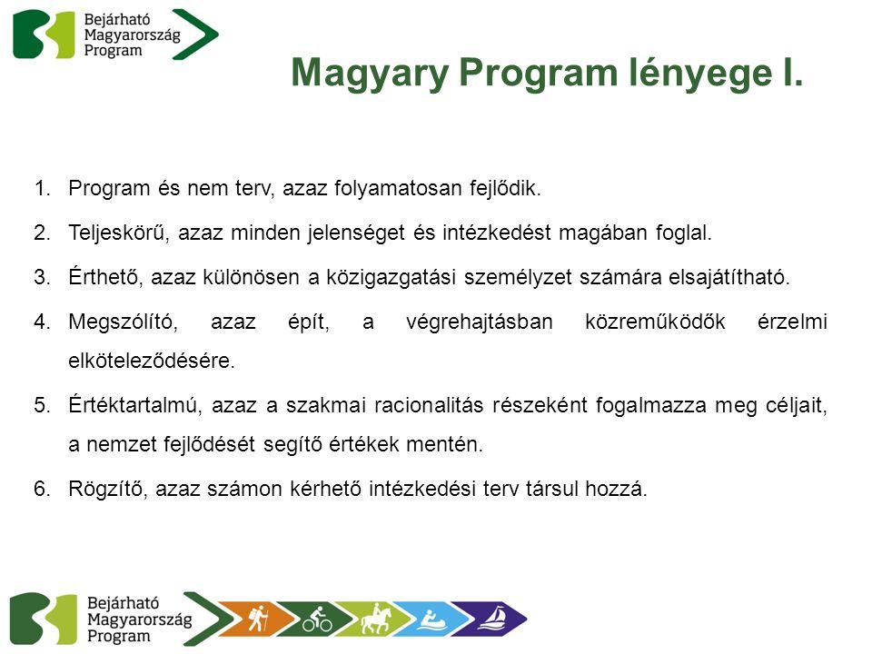 Magyary Program lényege I.
