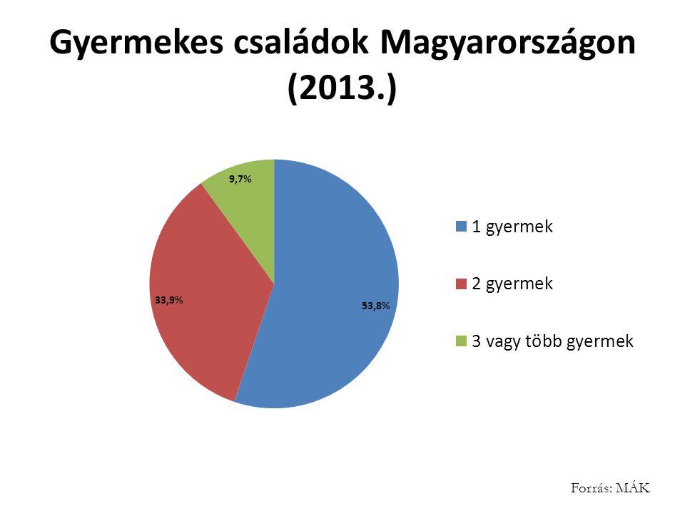 Gyermekes családok Magyarországon (2013.)