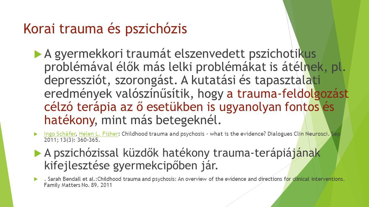 Korai trauma és pszichózis