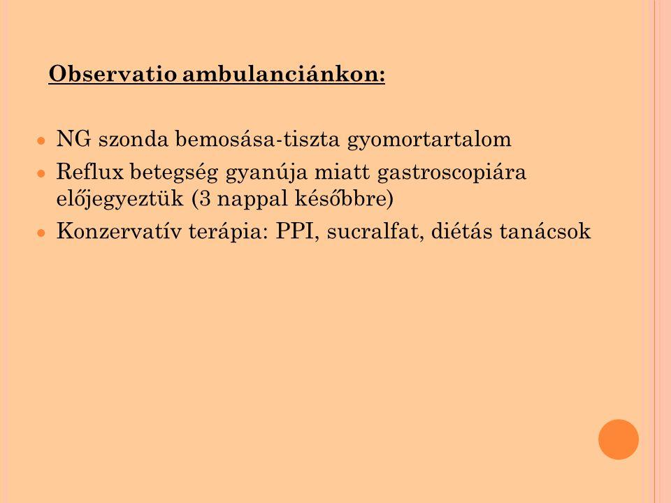 Observatio ambulanciánkon: