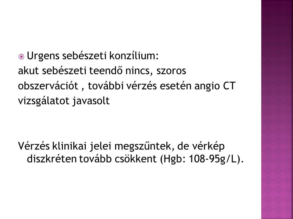Urgens sebészeti konzílium: