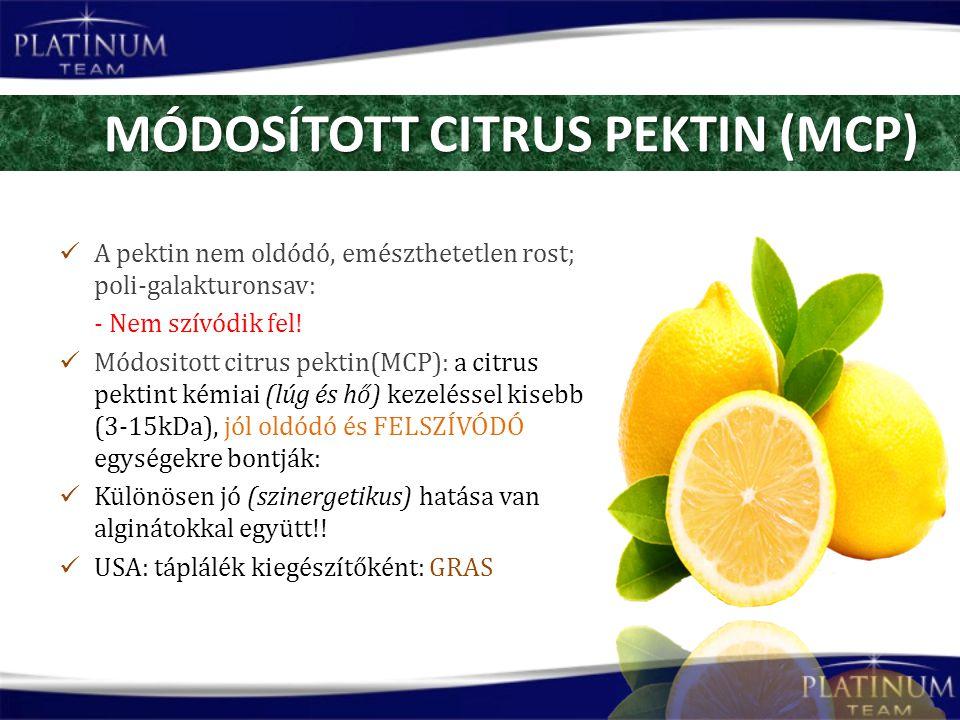 MÓDOSÍTOTT CITRUS PEKTIN (MCP)
