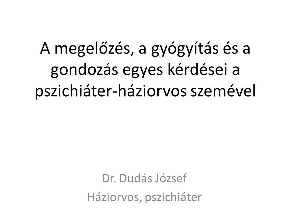Dr. Dudás József Háziorvos, pszichiáter