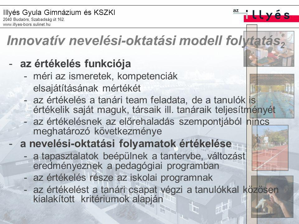 Innovatív nevelési-oktatási modell folytatás2