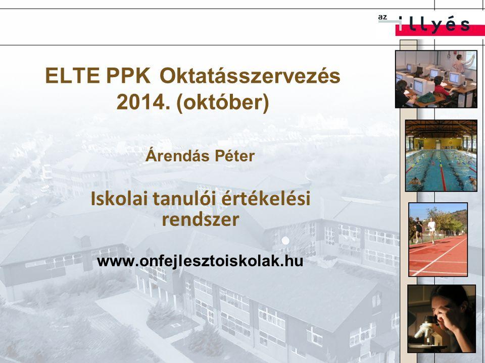 ELTE PPK Oktatásszervezés 2014. (október)