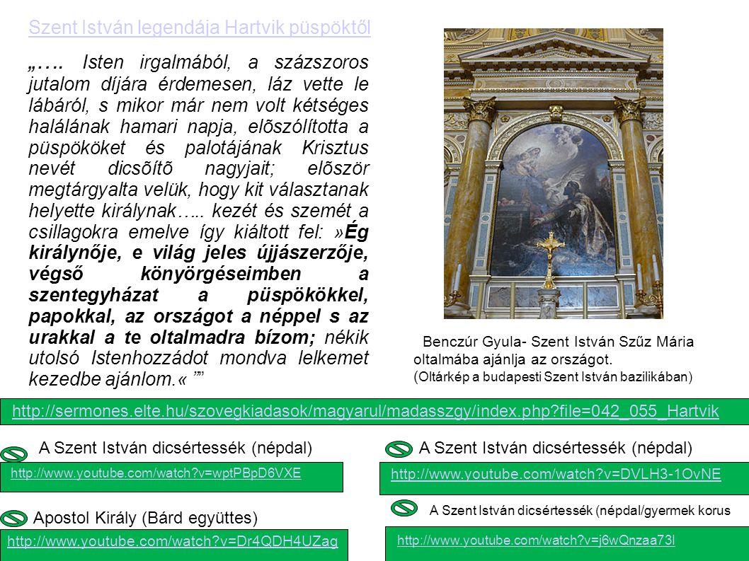 Szent István legendája Hartvik püspöktől