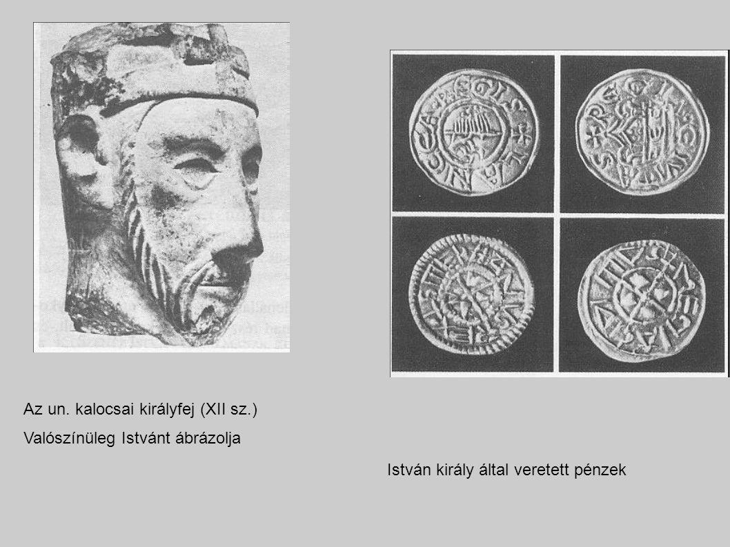 Az un. kalocsai királyfej (XII sz.)