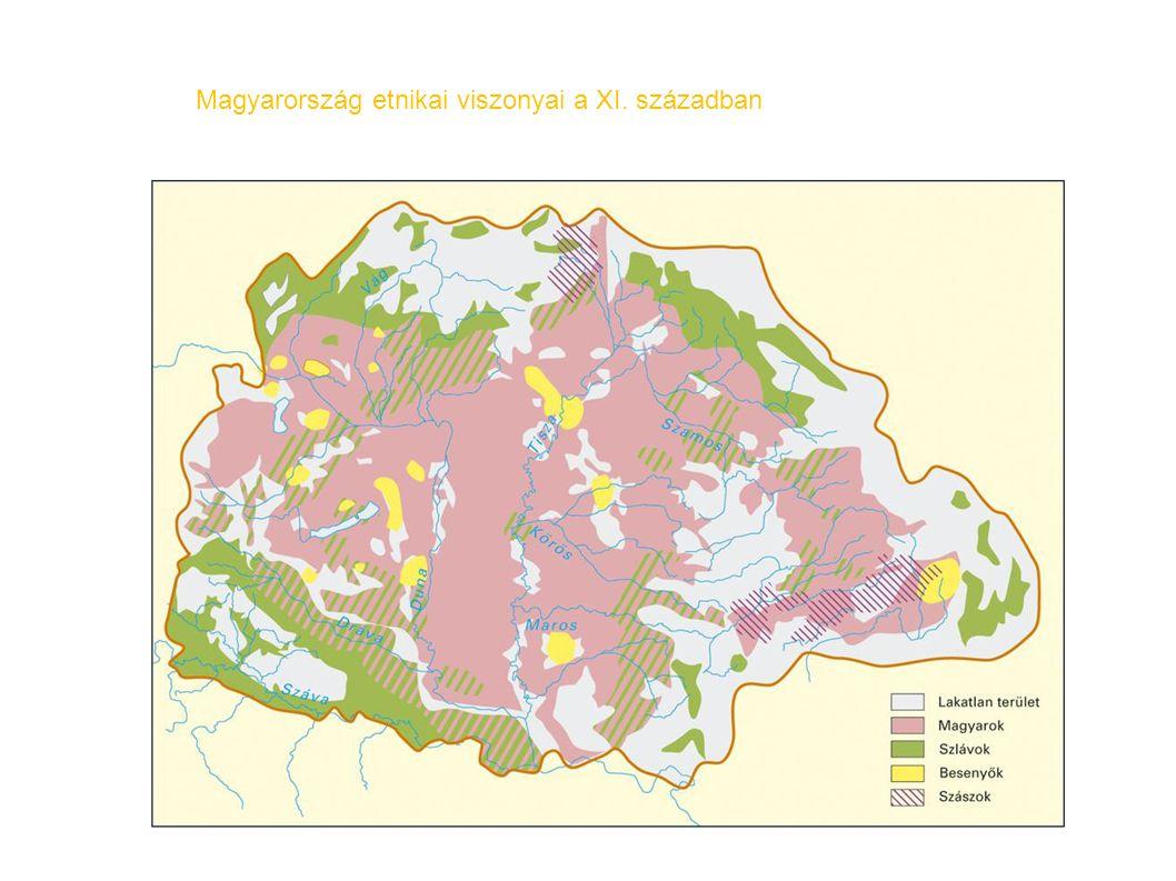 Magyarország etnikai viszonyai a XI. században