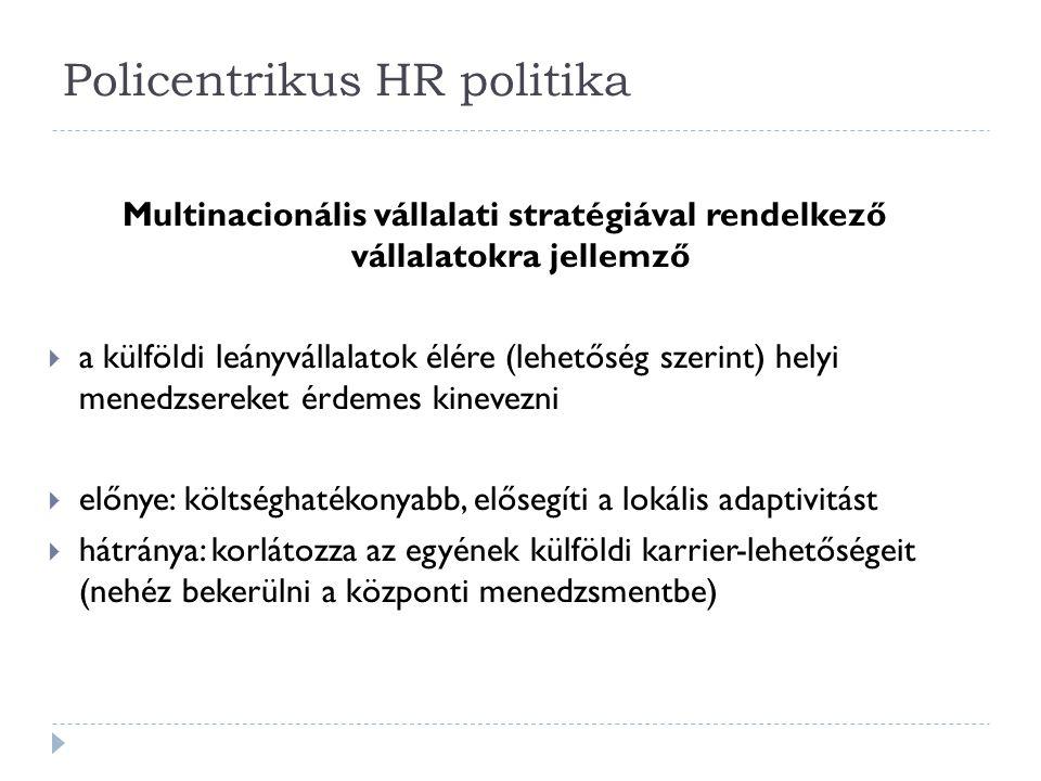 Policentrikus HR politika