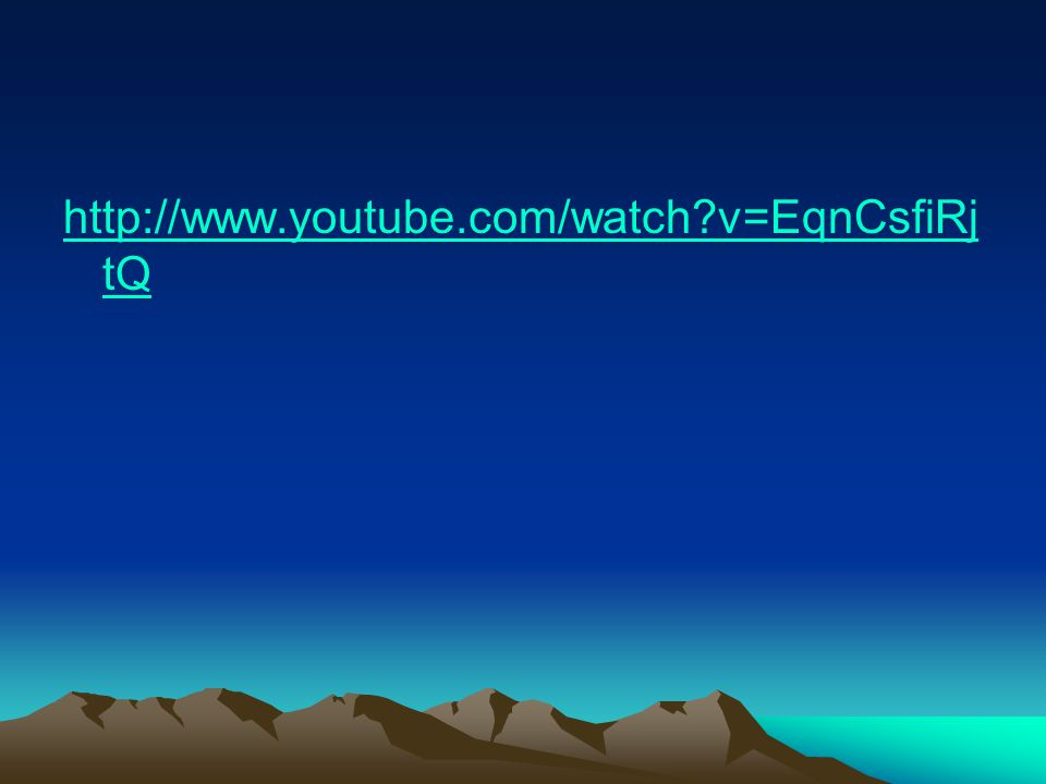 http://www.youtube.com/watch v=EqnCsfiRjtQ