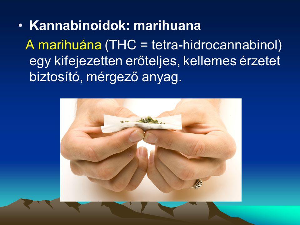 Kannabinoidok: marihuana