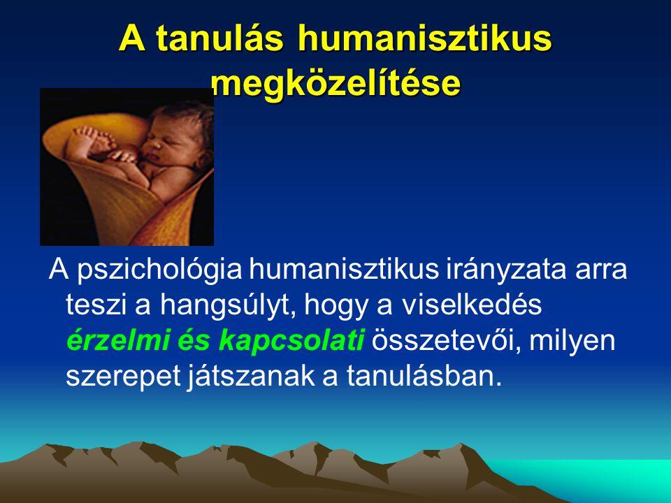 A tanulás humanisztikus megközelítése