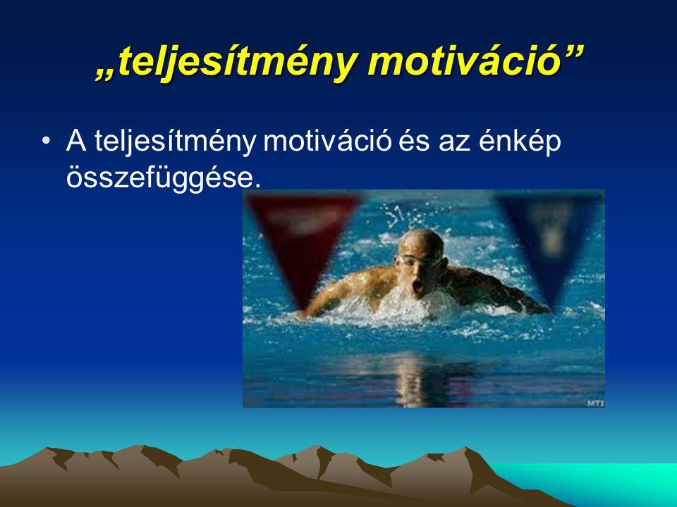 """""""teljesítmény motiváció"""