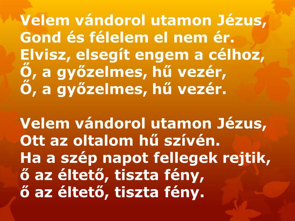 Velem vándorol utamon Jézus, Gond és félelem el nem ér