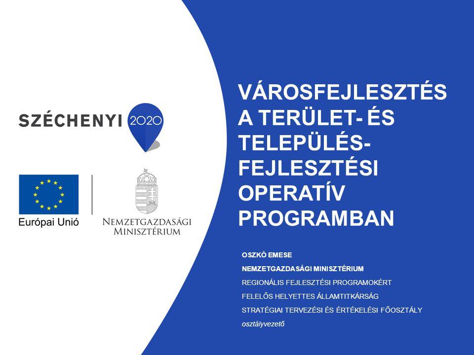 Városfejlesztés a Terület- és Település-fejlesztési Operatív Programban