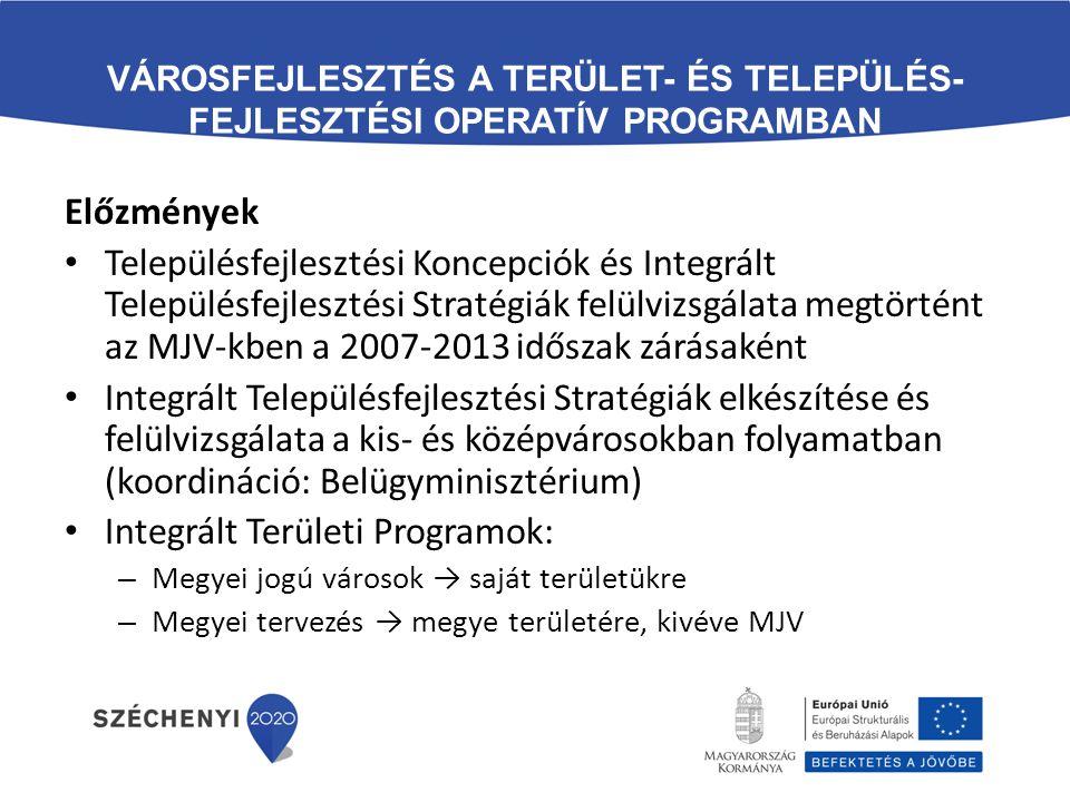 Integrált Területi Programok: