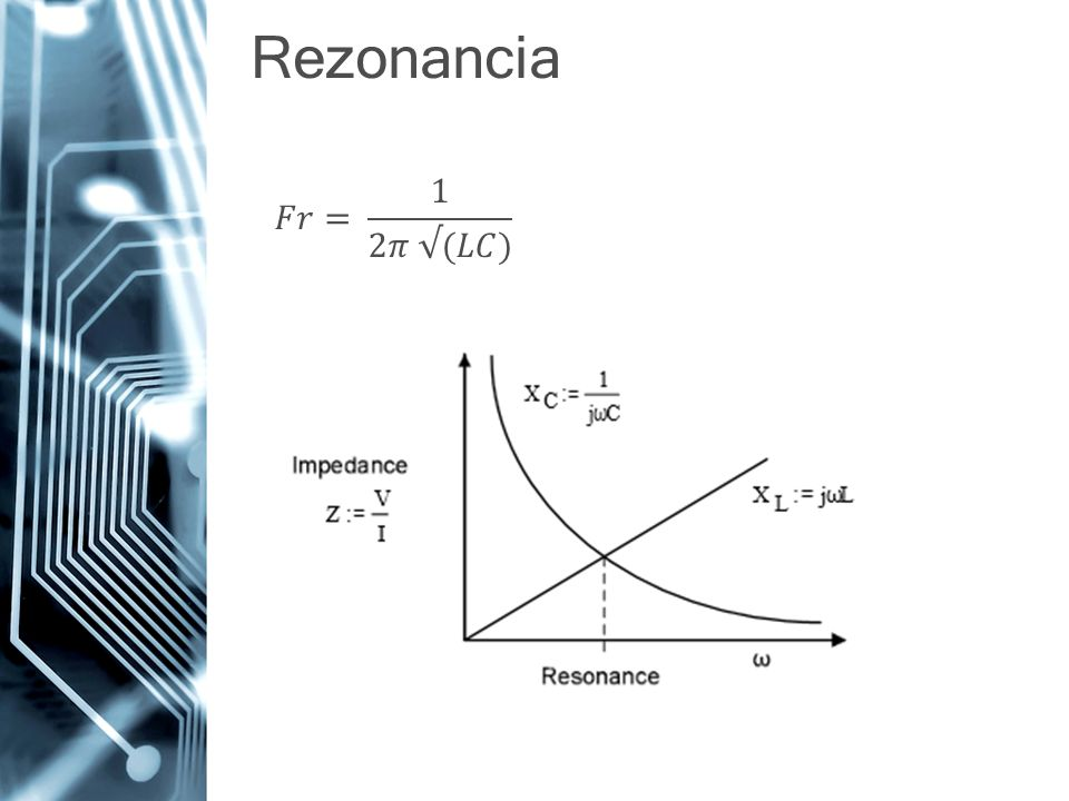 Rezonancia 𝐹𝑟= 1 2𝜋 √(𝐿𝐶)