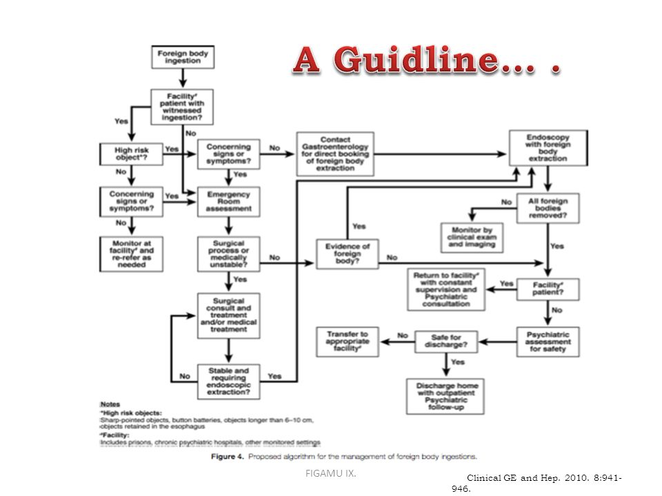 A Guidline… . FIGAMU IX. Clinical GE and Hep. 2010. 8:941-946.