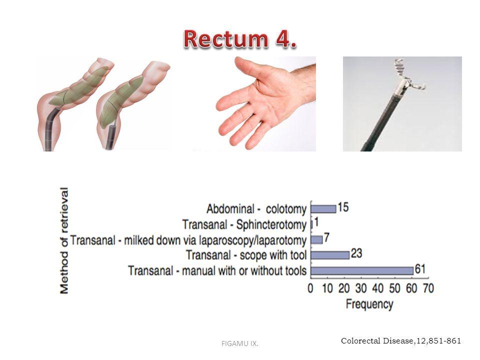 Rectum 4. FIGAMU IX. Colorectal Disease,12,851-861
