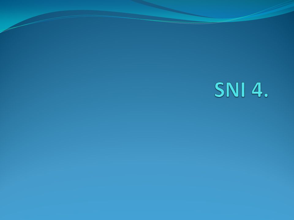 SNI 4.