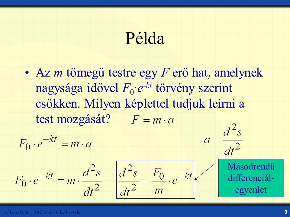 Másodrendű differenciál-egyenlet