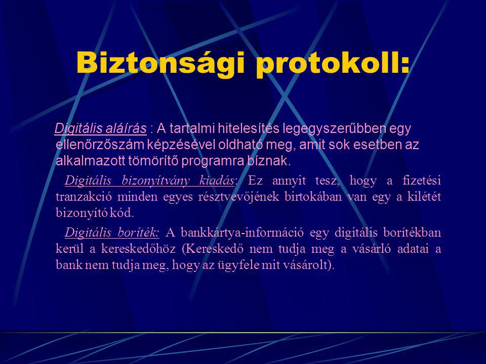 Biztonsági protokoll:
