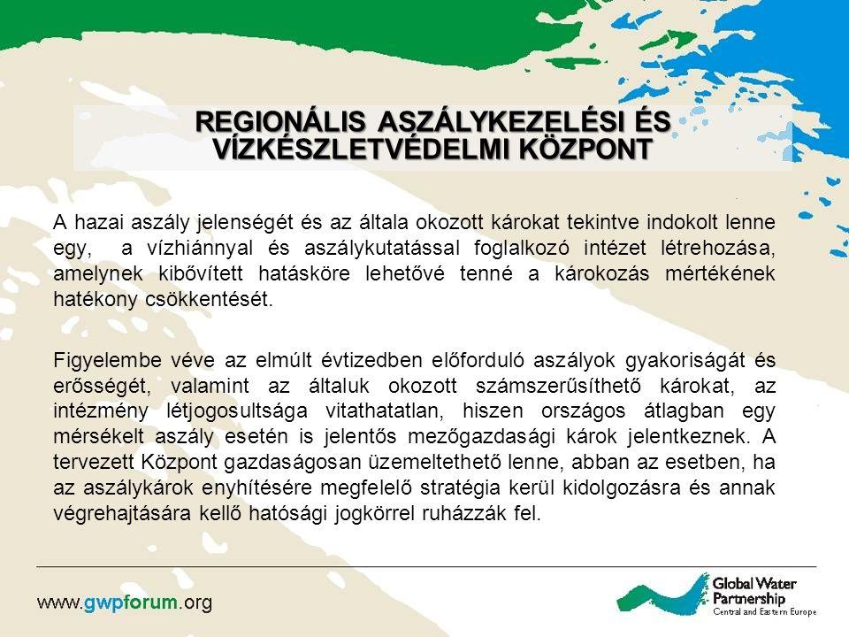 Regionális Aszálykezelési és Vízkészletvédelmi Központ